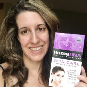 My Skin Analysis with the HomeDNA Collection Kit