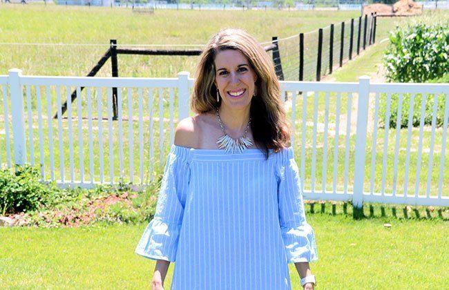 Thursday Fashion Files Link Up #117 – Blue & White Stripes