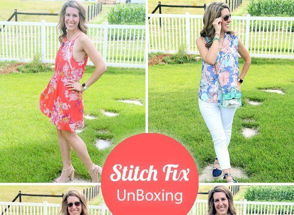 Thursday Fashion Files Link Up #116 – Stitch Fix Unboxing #9 & Moonstone Ring