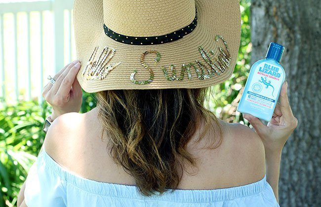 Easy DIY for a Sequin Beach Hat