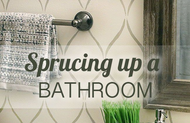 Sprucing up a Bathroom with Gorgeous Accessories & Towels
