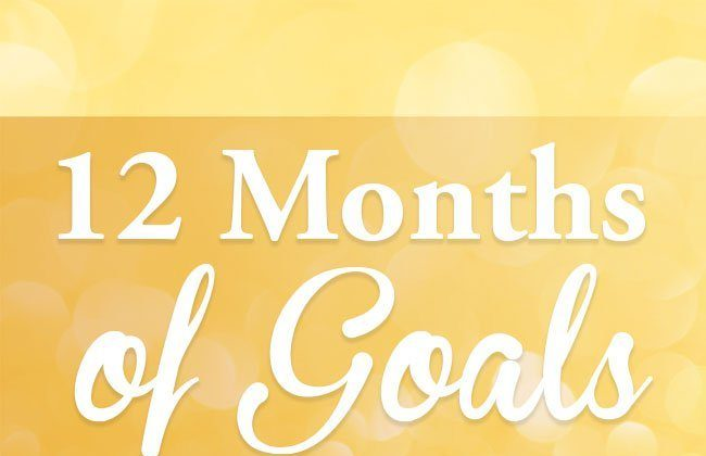 12 Months of Goals – April
