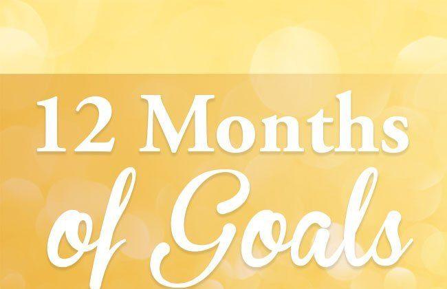 12 Months of Goals – April