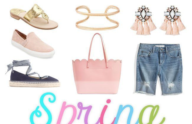 Thursday Fashion Files Link Up #104 – Spring Wish List