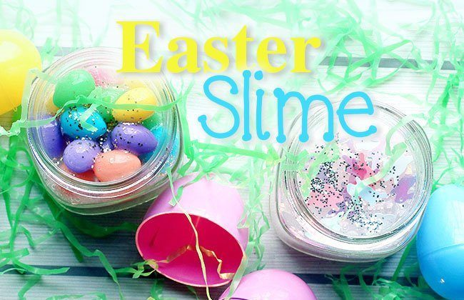Easter Slime {Only 2 Ingredients!}