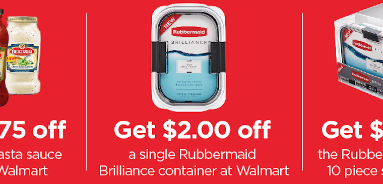 Get Inspired with Bertolli® Sauces and Rubbermaid® Brilliance™!