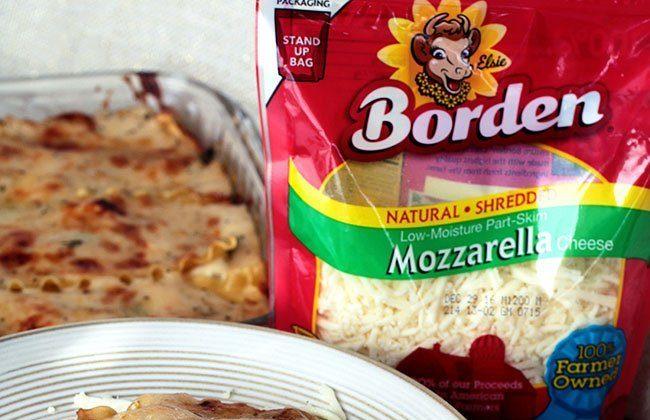 Creamy White Chicken Lasagna {Recipe}