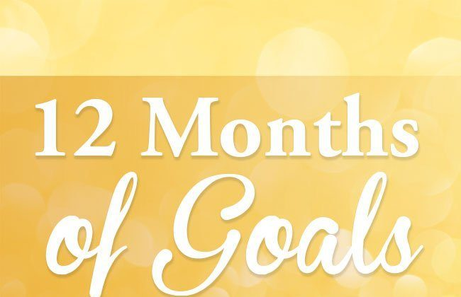 12 Months of Goals – January