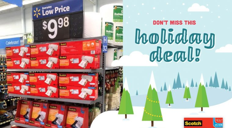 Don't Miss This Holiday Deal: 3M Scotch Laminators/Pouches Rollback at Walmart!