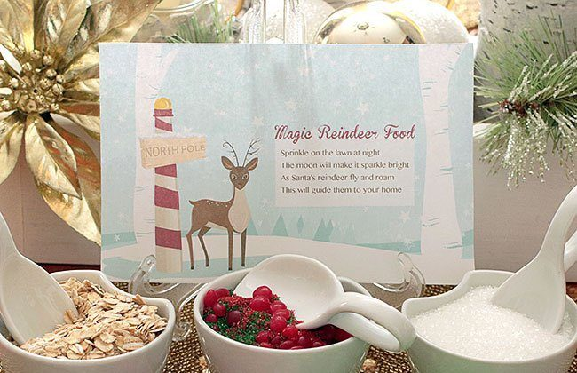 Magic Reindeer Food Printable {7-Day Free Trial with GraphicStock!}