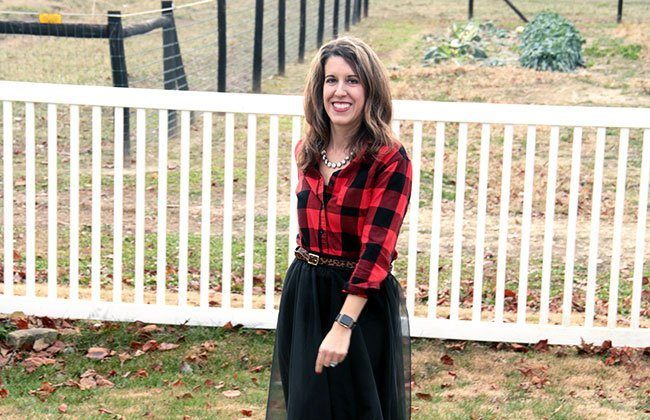 Thursday Fashion Files Link Up #91 – Plaid and Tulle, A Perfect Harmony!