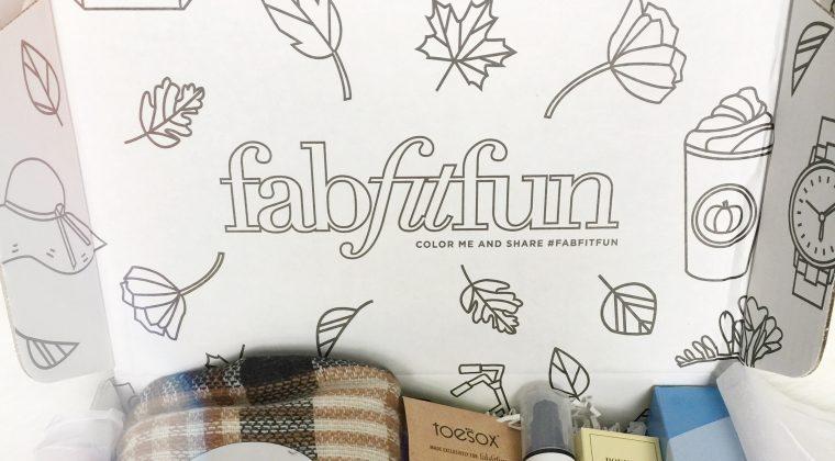 2016 Fall Fab Fit Fun Box