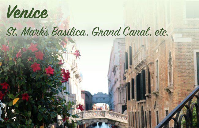 Italy Vacation: Venice