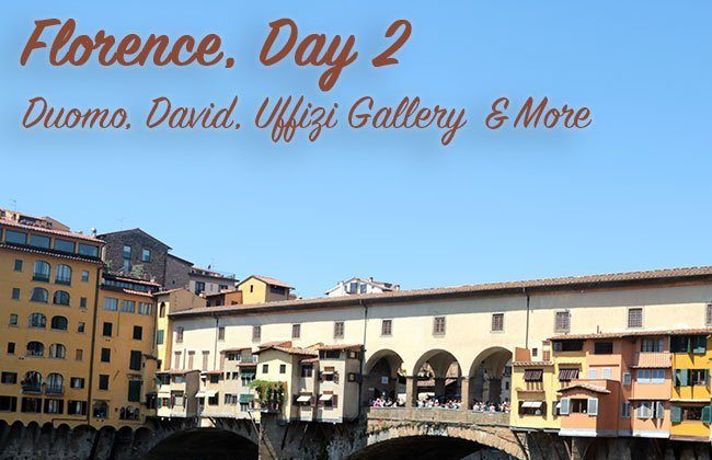 Italy Vacation: Florence, Day 2