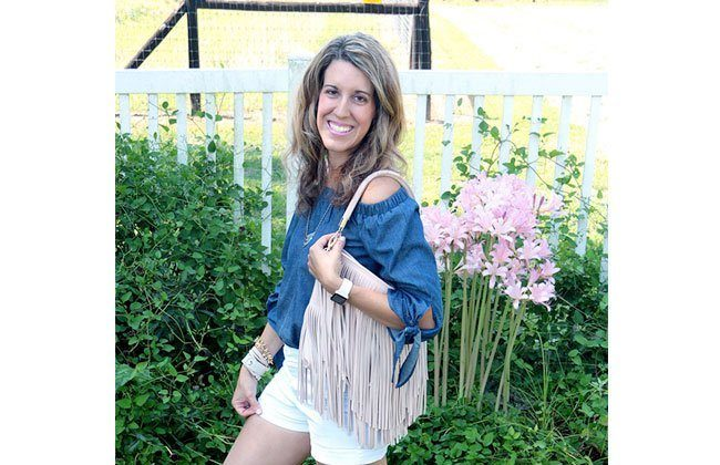 Thursday Fashion Files Link Up #76 – Waterfall Pendant