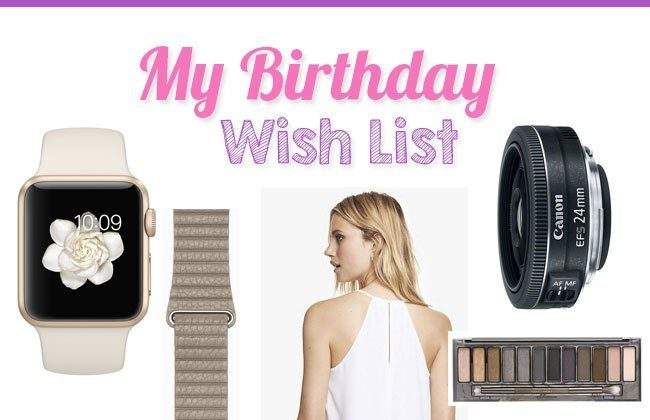 Thursday Fashion Files Link Up #73 – My Birthday Wish List