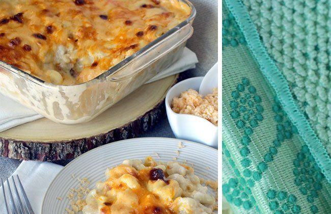 Cleaning Up After a Gouda Mac and Cheese Recipe AND Tips for a Clean Sink! #ScrubDishCloth