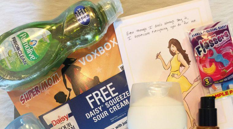 Influenster Super Mom VoxBox Review