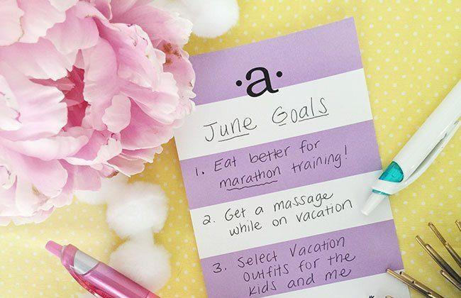 June Monthly Goals