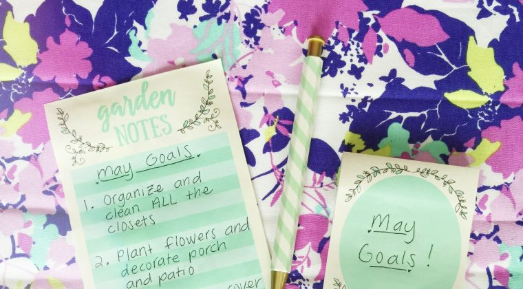 May Monthly Goals