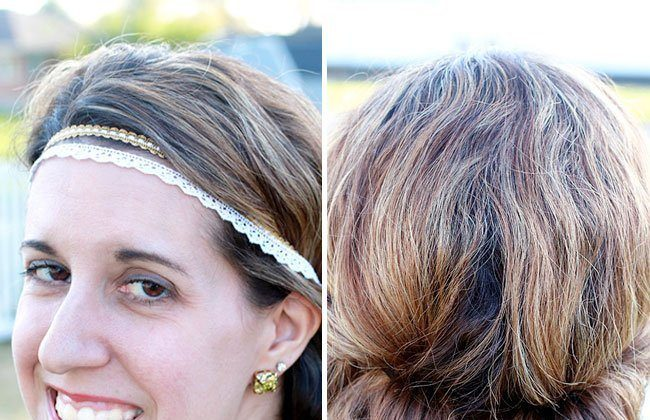 DIY 5 Minute Summer Lace Headband and Updo! #WholeBlends