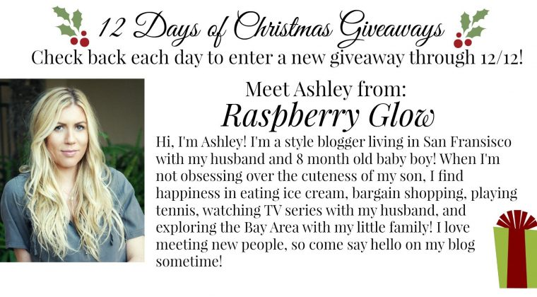 12 Days of Christmas Giveaways: Day Twelve {FINAL DAY!!}