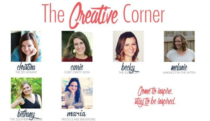 The Creative Corner Link Up Party – 11/22/15 (and Meal Plan 87)