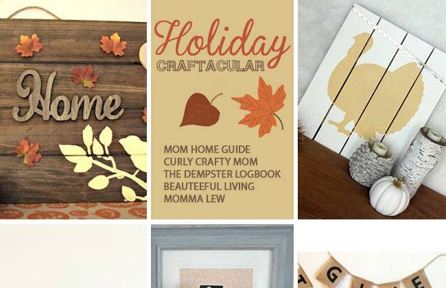 Holiday Craftacular Link Up: Pottery Barn Kids Inspired Thanksgiving Tablescape by Momma Lew
