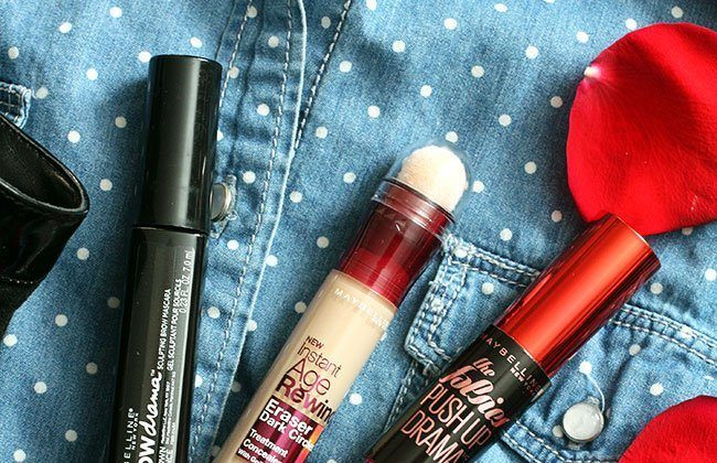 Quick Date Night Makeup Tips with Maybelline Falsies Push Up Drama Mascara!