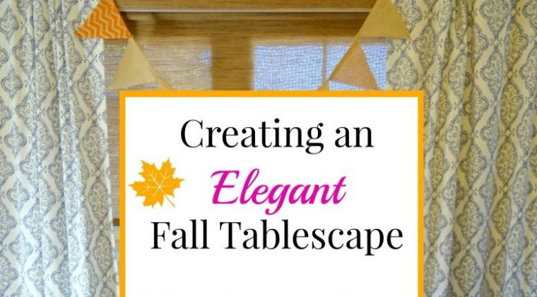 Holiday Craftacular Link Up: Elegant Fall Tablescape by Beauteeful Living