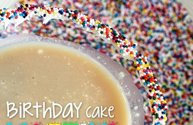 12 Months of Drinks – Birthday Cake Martini