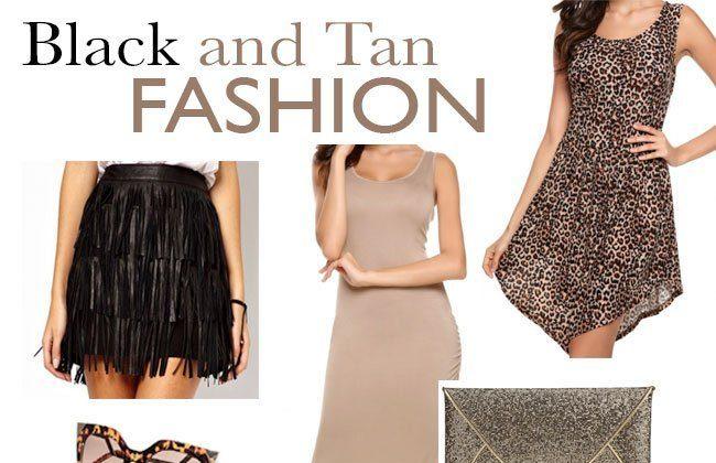 Black and Tan Fashion with Dressin.com