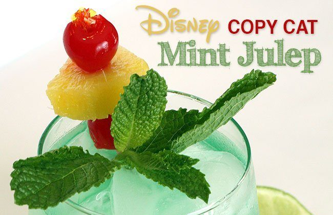 12 Months of Drinks: April – Disney's Mint Julep Recipe (Non-Alcoholic)