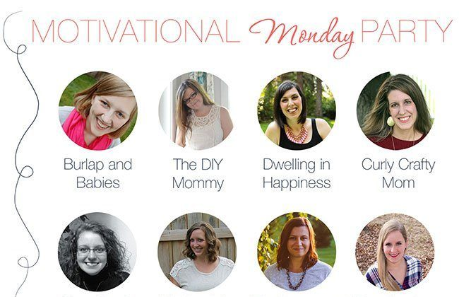 Motivational Monday Link Up Party – 4/19/15