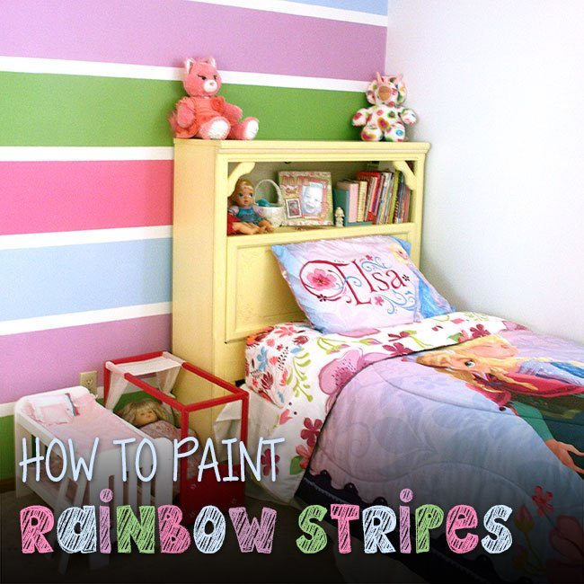 How-to-Paint-Rainbow-Stripes-650x650