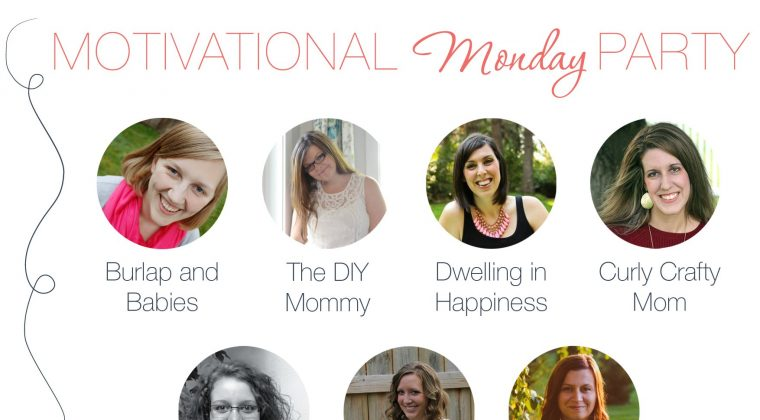 Motivational Monday Link Up Party