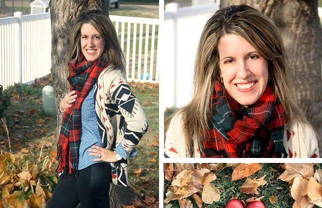 What Wives Wear Link Up #29 – Plaid and Aztec Patterns