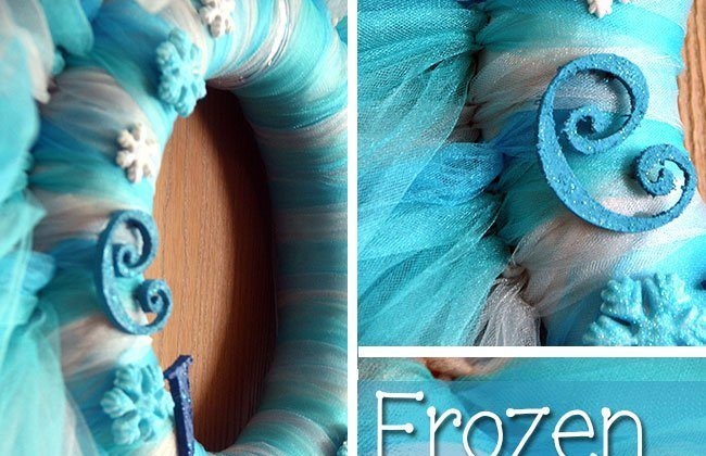 Frozen Tulle Wreath