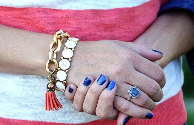 What Wives Wear Link Up #26 – Fall Whites + Blues and Coral