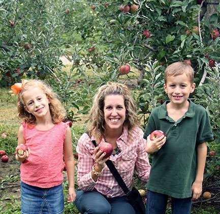 Apple Picking and Curly Crafty Mom Meal Plan, Week 28