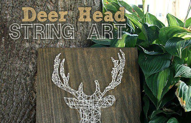 Oh Deer! String Art