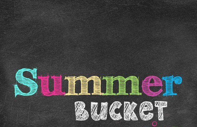 2014 Summer Bucket List and Meal Plan, Week 14