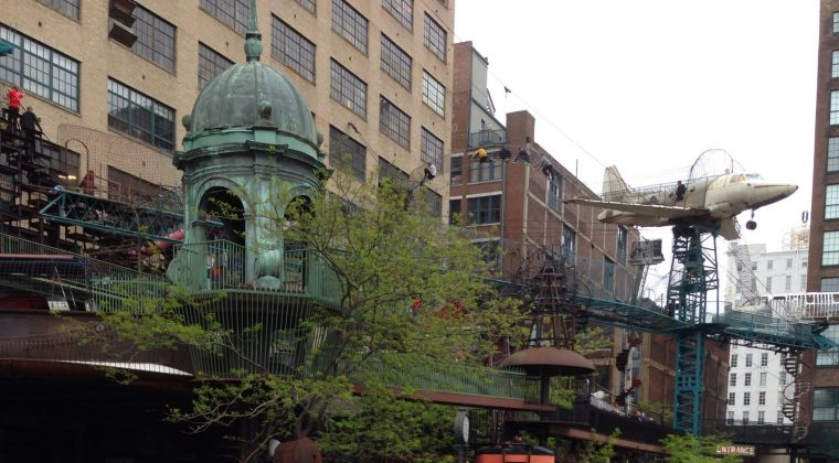Nathan's Field Trip to the City Museum