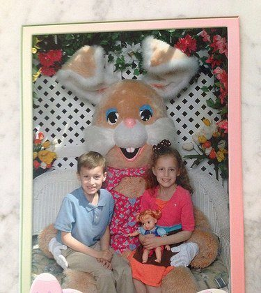 2014 Easter Bunny (Mall) Photo and Spring School Photos