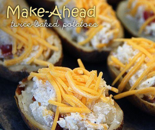 This Month's Freezer Meal: Bacon and Cheese Stuffed Potatoes