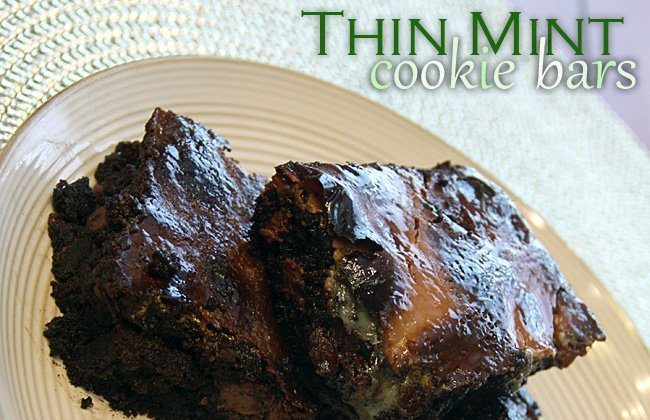 Lucky Link Up Recipe Reveal: Thin Mint Cookie Bars AND Six Other St. Paddy's Day Treats