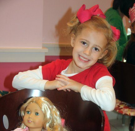 Autumn's Birthday and a Trip to the American Girl Store (eeee!!!)