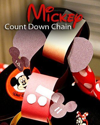 Mickey Count Down Chain
