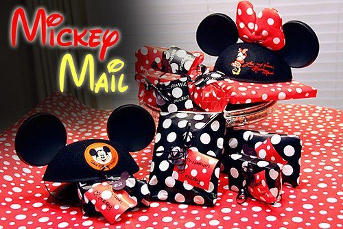 Mickey Mail is on its way!
