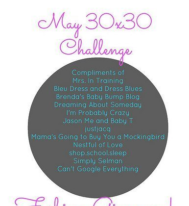 30×30 Challenge – Week Four Photos AND a $60 Giveaway!